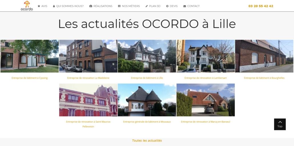 Actualités Ocordo à Lille
